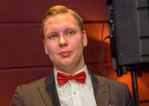 Vuoden 2018 voittaja: Jimi Hellstedt