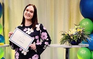"""Vuoden 2021 voittaja Aurora Korjus: """"Kilpailu sai innostumaan myynnistä"""""""